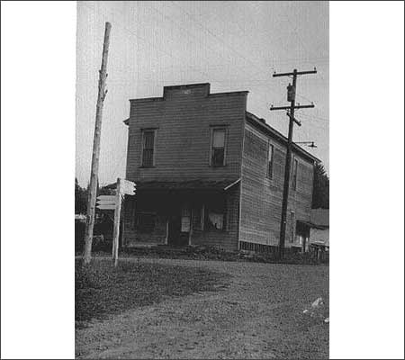 IOOF Hall, circa 1960 [Photo courtesy Oregon Historical Photo Collection, Salem Public Library]
